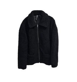 DESIGN LAB DESIGN LAB Zip Sherpa Jacket