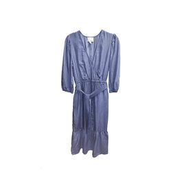 Greylin Greylin Lanis Denim Midi Dress