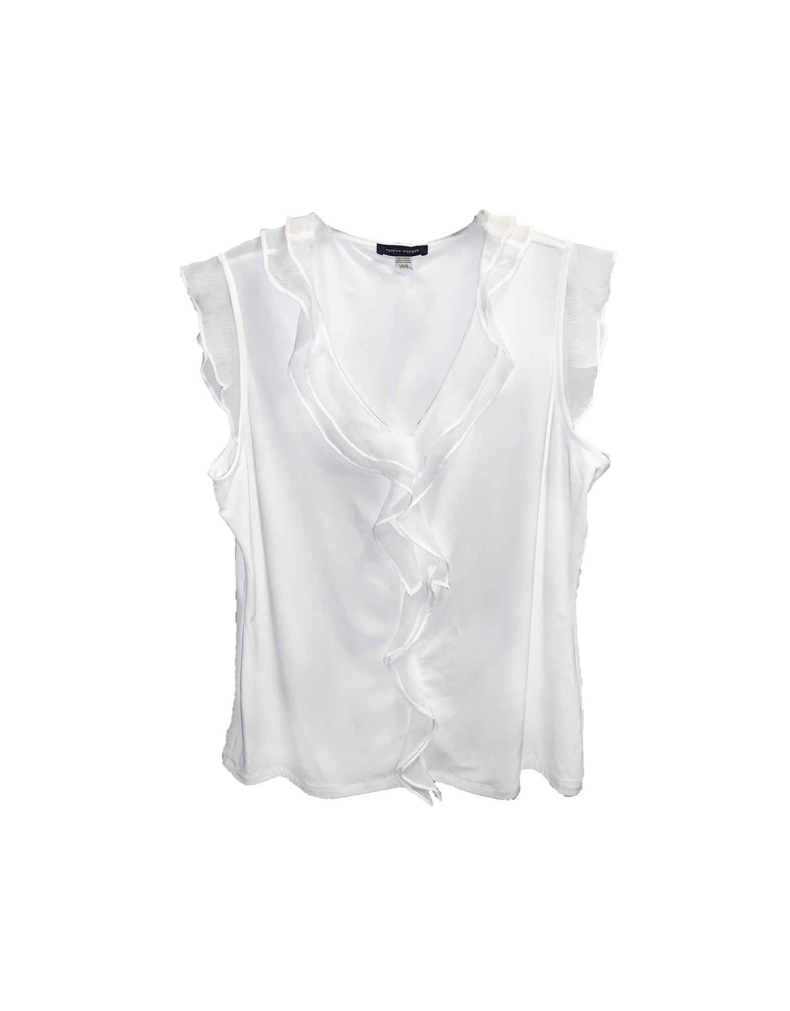 Tommy Hilfiger Tommy Hilfiger Ruffle Front Blouse