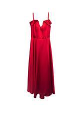 XSCAPE Xscape Ruffle V-Neck Ball Gown