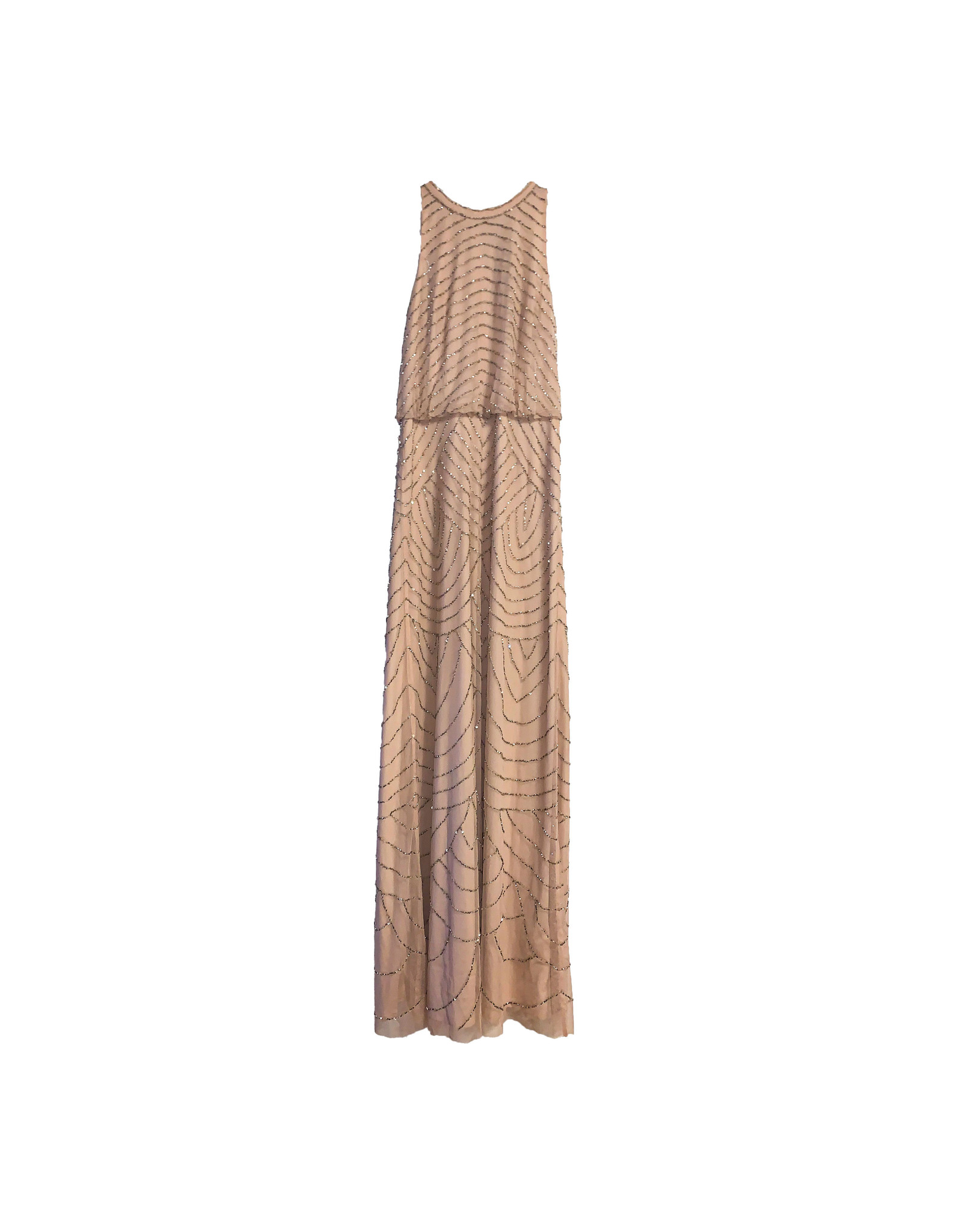 ADRIANNA PAPELL Adrianna Papell Beaded Gown