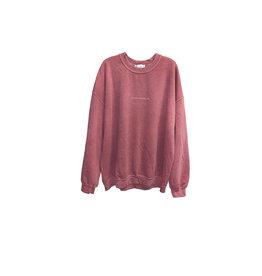 TOPMAN TOPMAN Stockholm Print Crew Neck Sweatshirt
