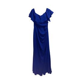XSCAPE XSCAPE Ruffle Evening Gown