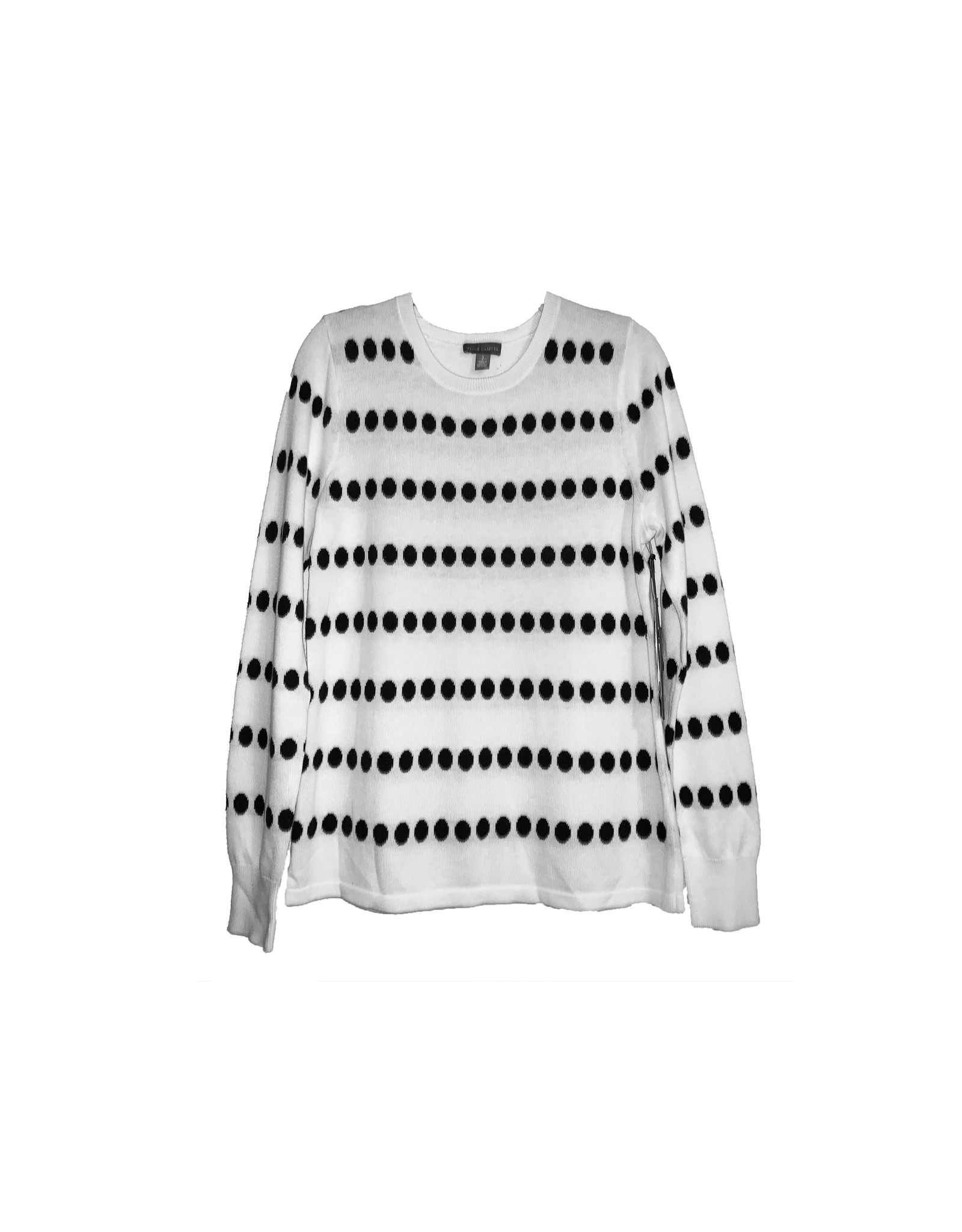 Vince Camuto Vince Camuto Jacquard-Dot Sweater