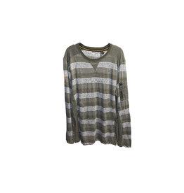 POINT ZERO POINT ZERO Striped Sweatshirt