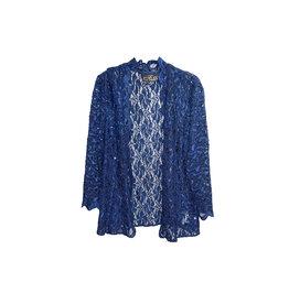 Alex Evenings Alex Evenings Sequined Lace Jacket