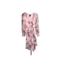Gabby Skye GABBY SKYE Floral Print Faux Wrap Dress