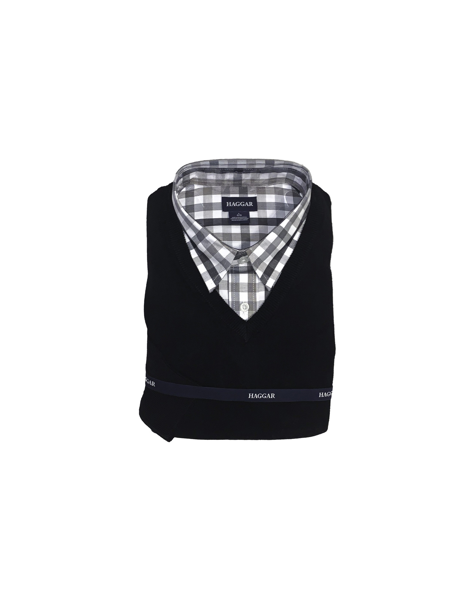 Haggar Haggar 2-Piece Sweater & Shirt