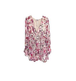 FREE PEOPLE FREE PEOPLE Closer To The Heart Tiered Floral Dress