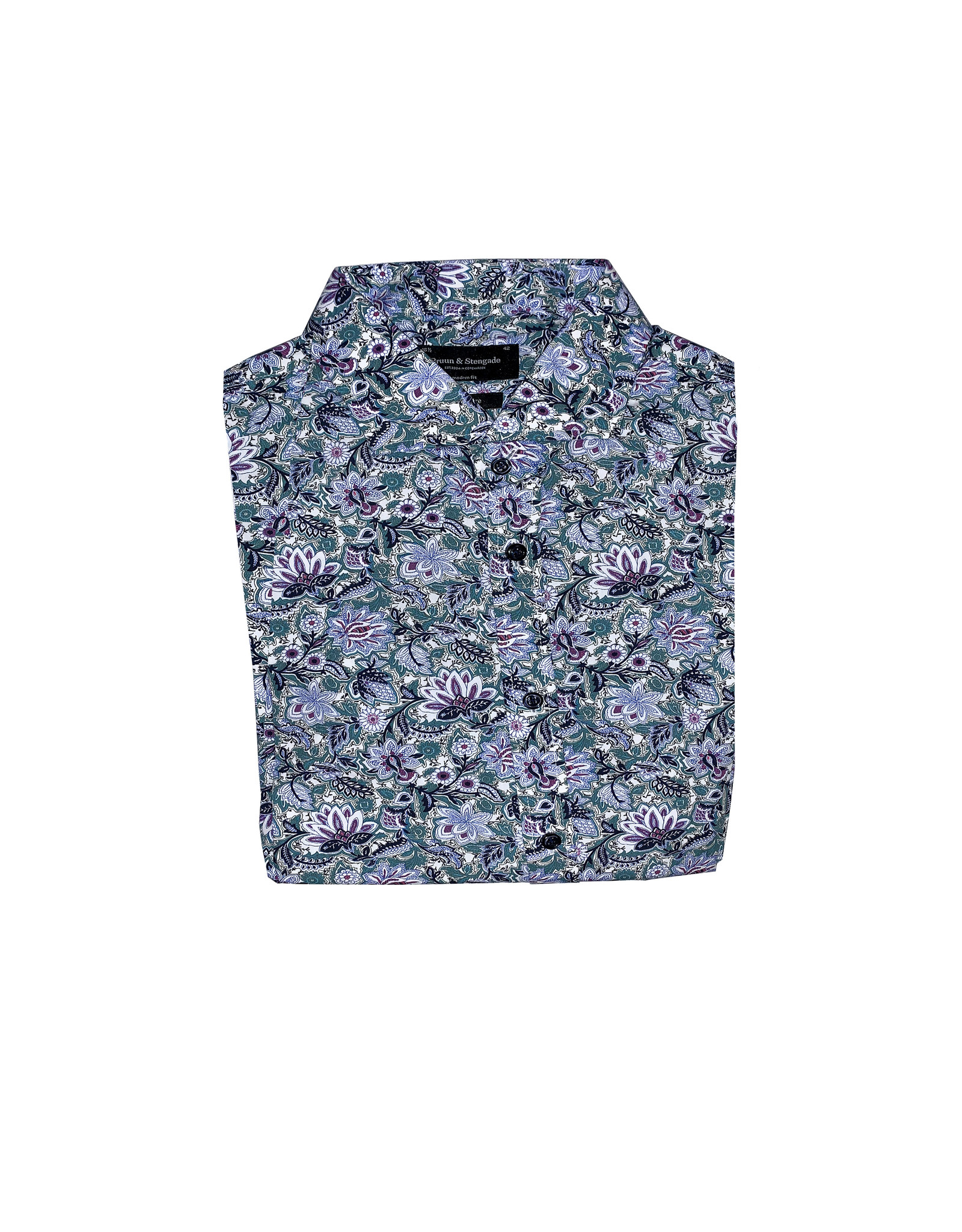 Bruun & Stengade Bruun & Stengade Floral Dress Shirt
