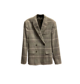Helmut Lang Helmut Lang Prince of Wales check style blazer Size: 2
