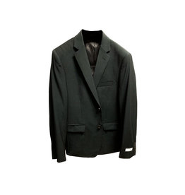 Calvin Klein Calvin Klein Skinny-Fit Notch Lapel Blazer Size: 42R