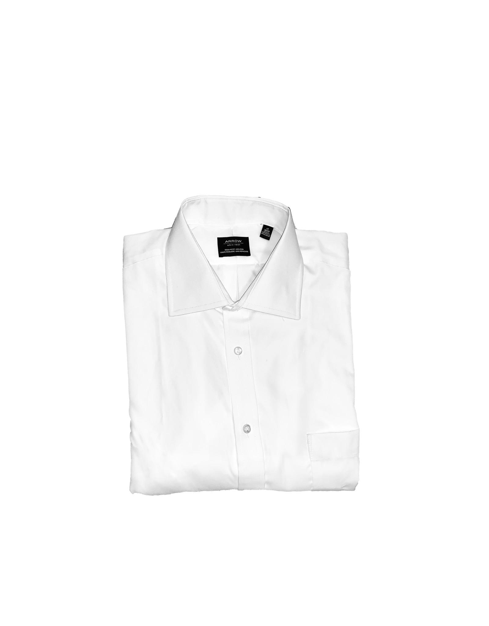 ARROW ARROW  Dress Shirt  Cotton Non-Iron  Size 36/37