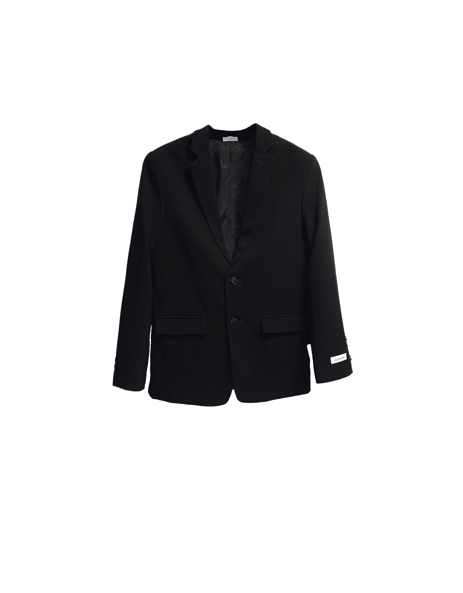 Calvin Klein Calvin klein Solid Strech Two Button Blazer Size16