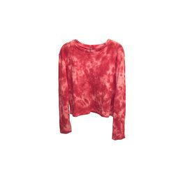 DESIGN LAB DESIGN LAB Tie Dye Waffle Knit Size: M