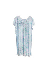 Jasmine Rose Jasmine Rose Floral Print Cotton Nightgown  Size XL