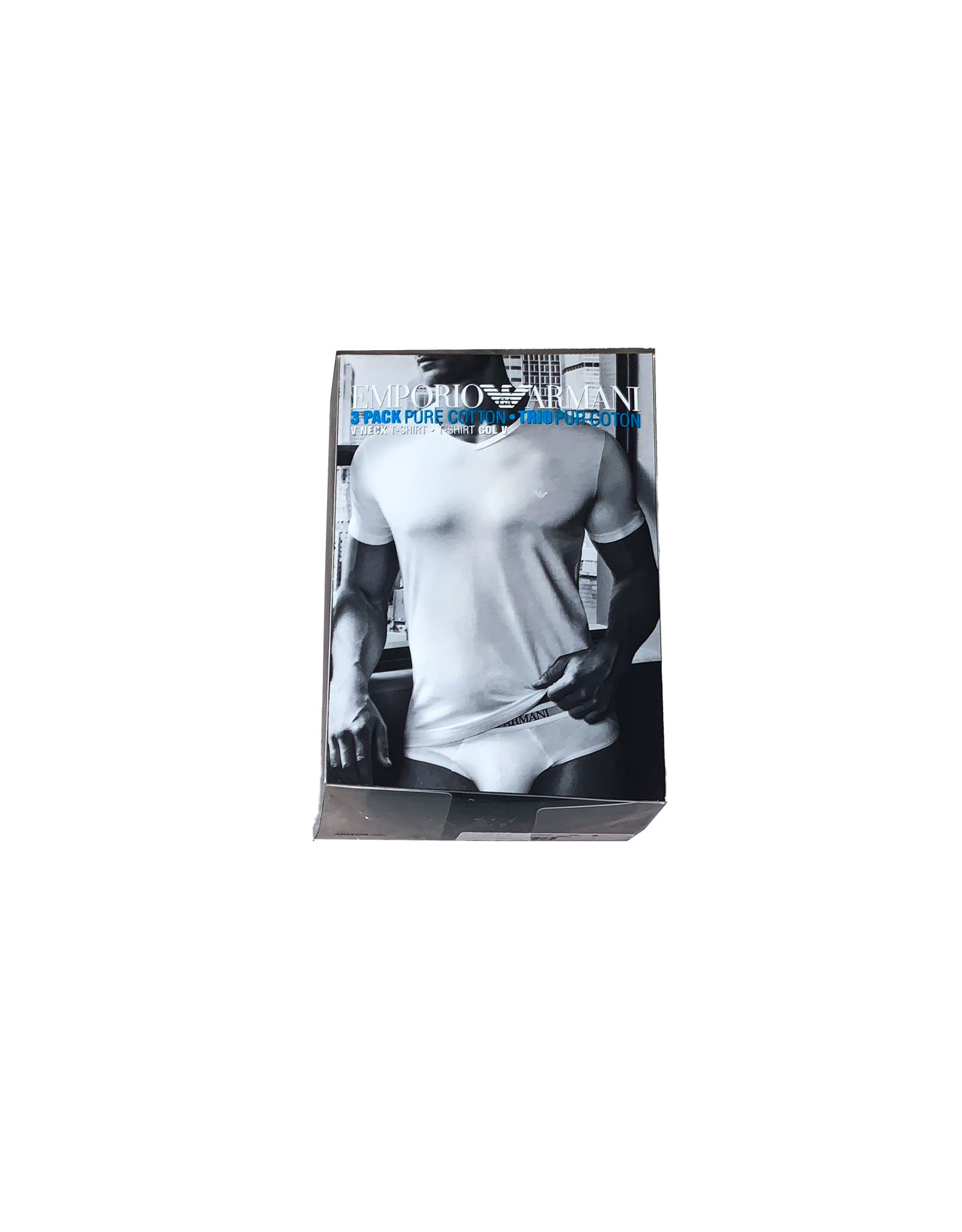 Emporio Armani EMPORIO ARMANI  3  V-neck  Tshirt  SizeM