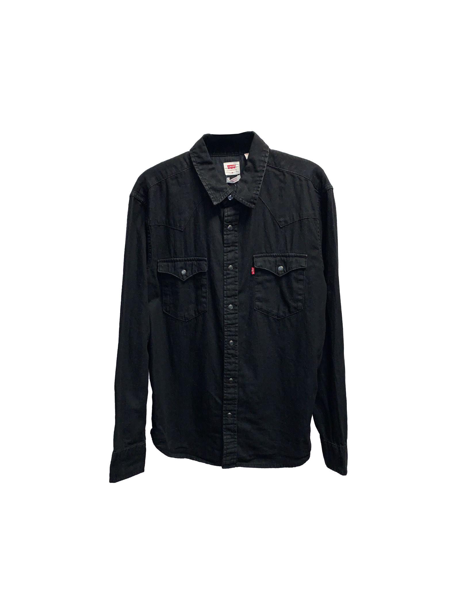 Levi's Levi's Black Long Sleeve  Size M