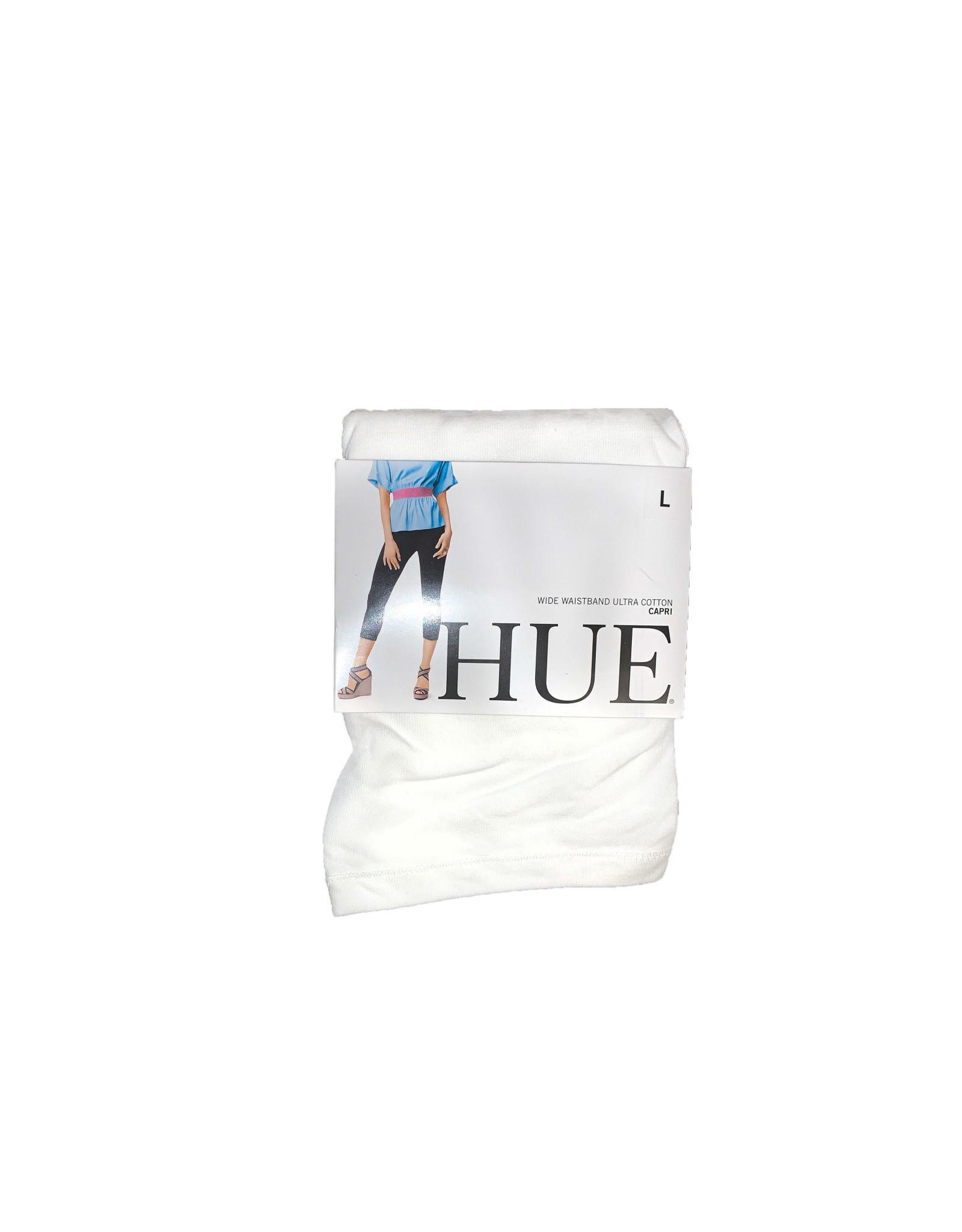 Hue  Wide  Waistband Ultra  Cotton Capri Size L