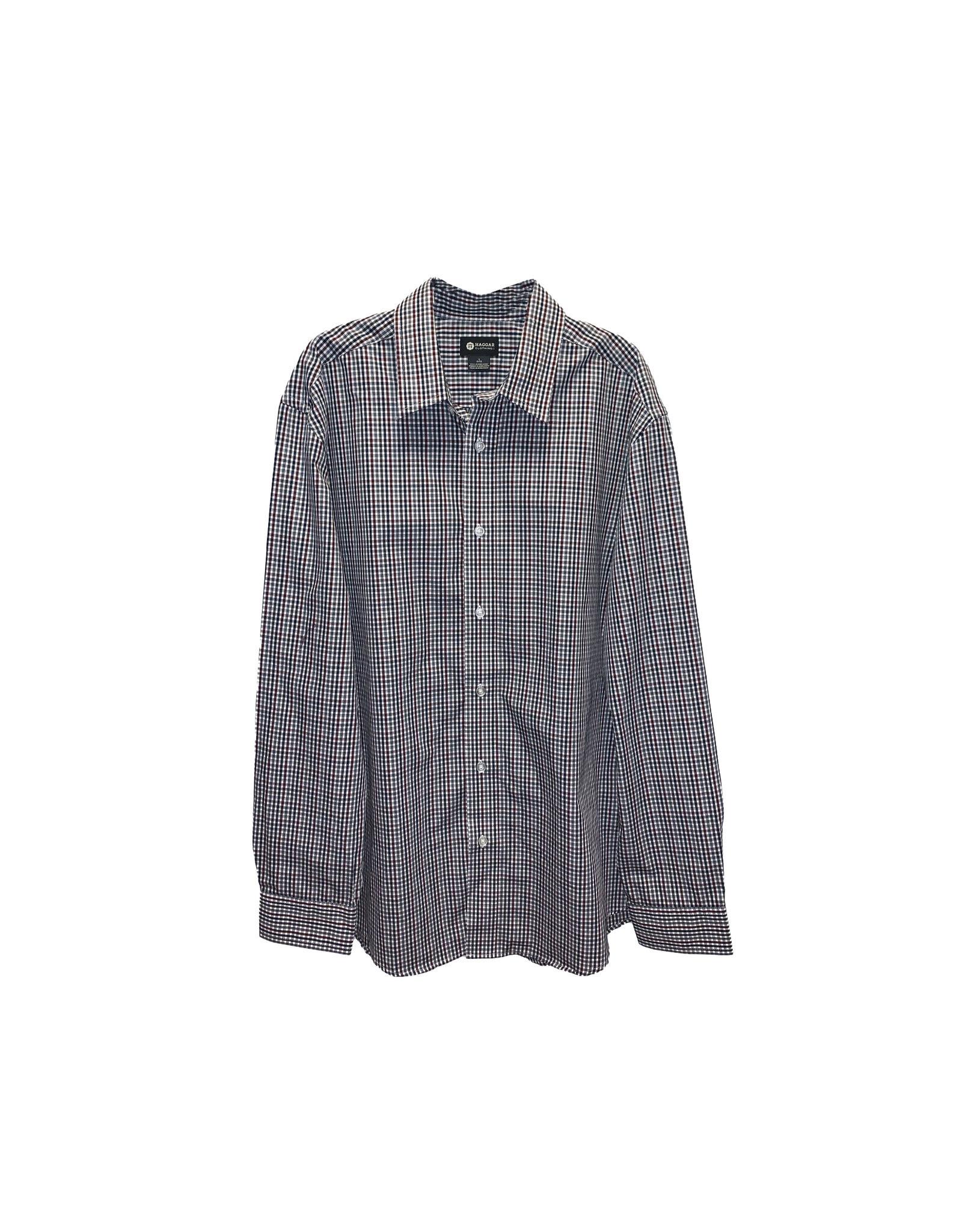 Haggar Haggar Men's  Dress Shirts Size L