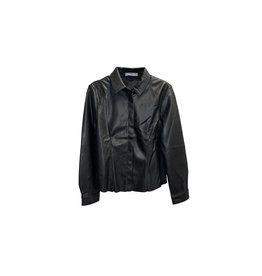 MANGO Mango Natasha Decorative Seams Overshirt Size: 2