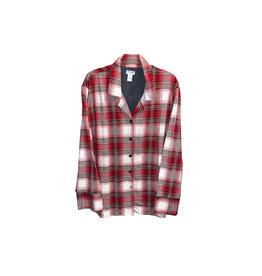 CLAUDEL Claudel Pyjamas Plaid Top XXL