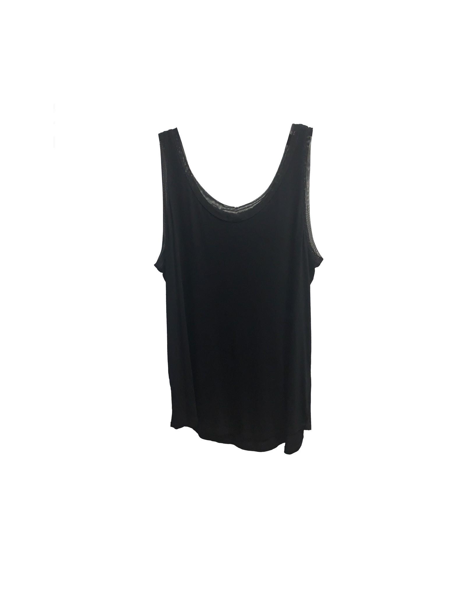 HUE HUE  Women's  Black Top  Size XL