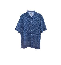 Van Heusen Van Heusen Never Truck Slim Fit Woven Shirt Size: 17-17½ (XL)