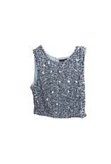 Occasion Occasion by Dex  Sequin Top  size M
