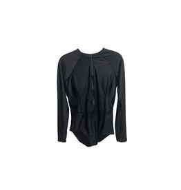NIKE Nike Hydralock  Long Sleeve  One Piece  Swimsuit  Size M