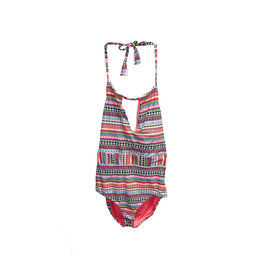 Anne Cole Anne Cole  High Neck Keyhole  One Piece  Swimsuit Size8