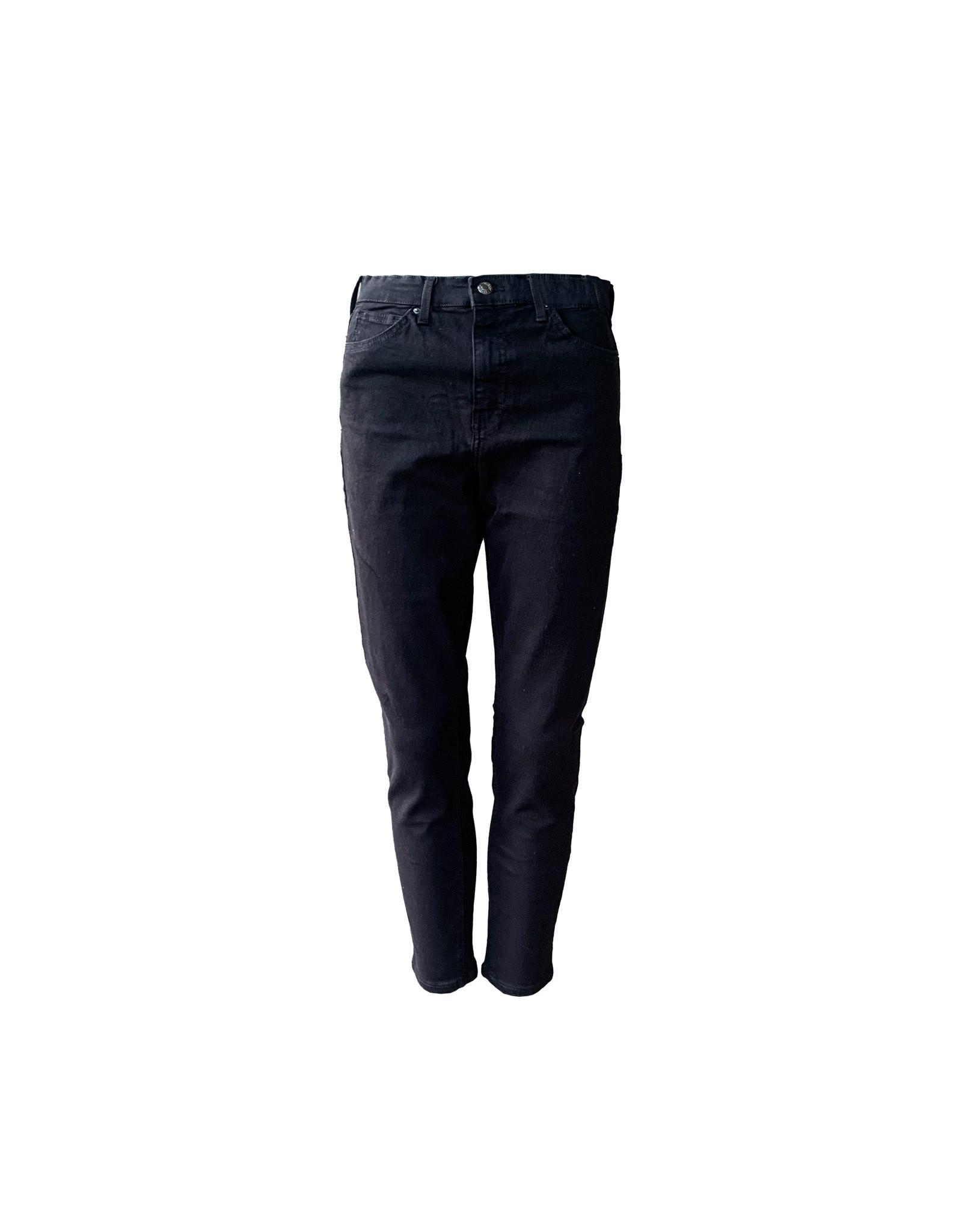 TOPSHOP TOPSHOP Jamie   Black Jeans SizeW 30  L 30