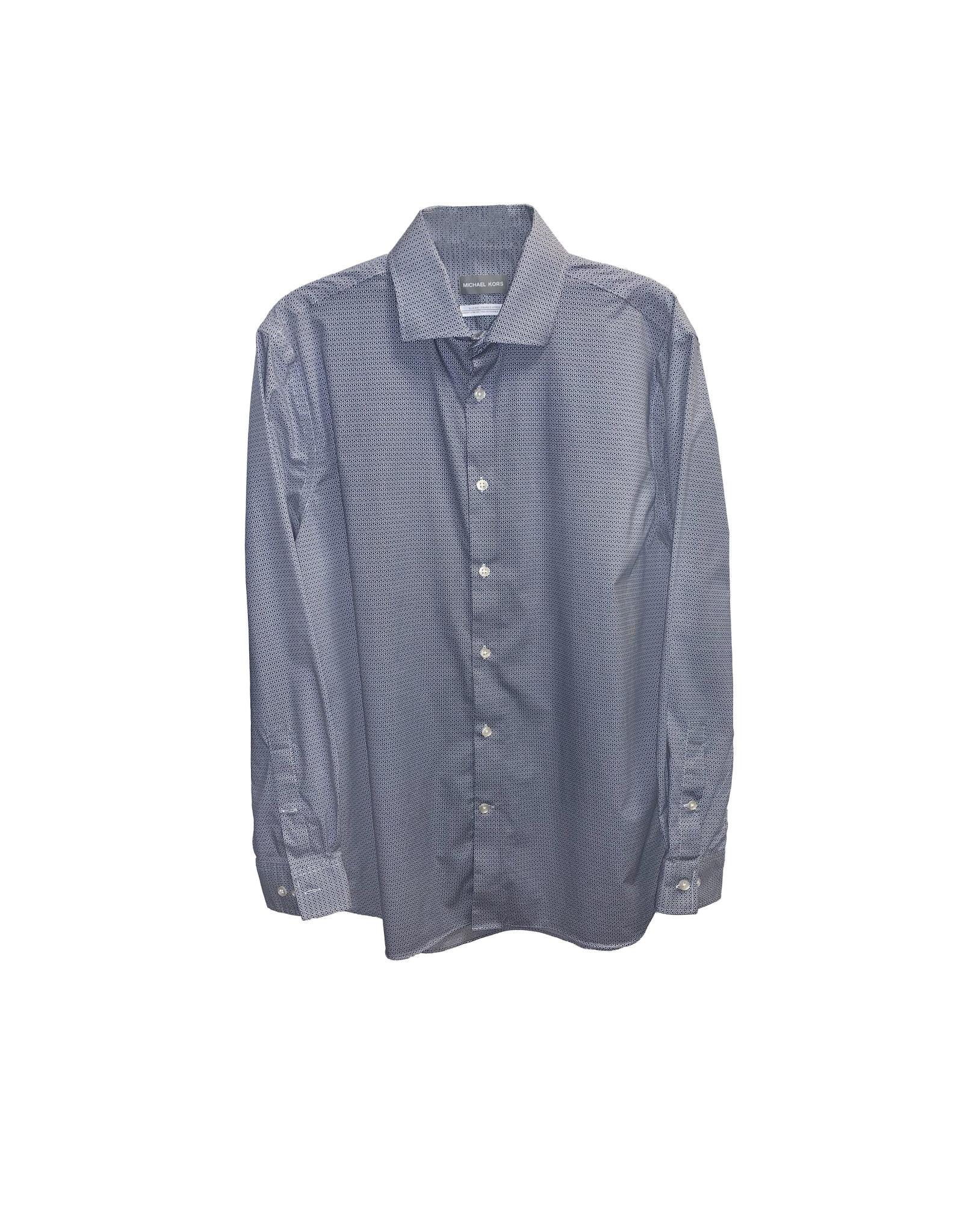 Michael Kors MICHAEL KORS  Slim Fit  Dress Shirt Size 16
