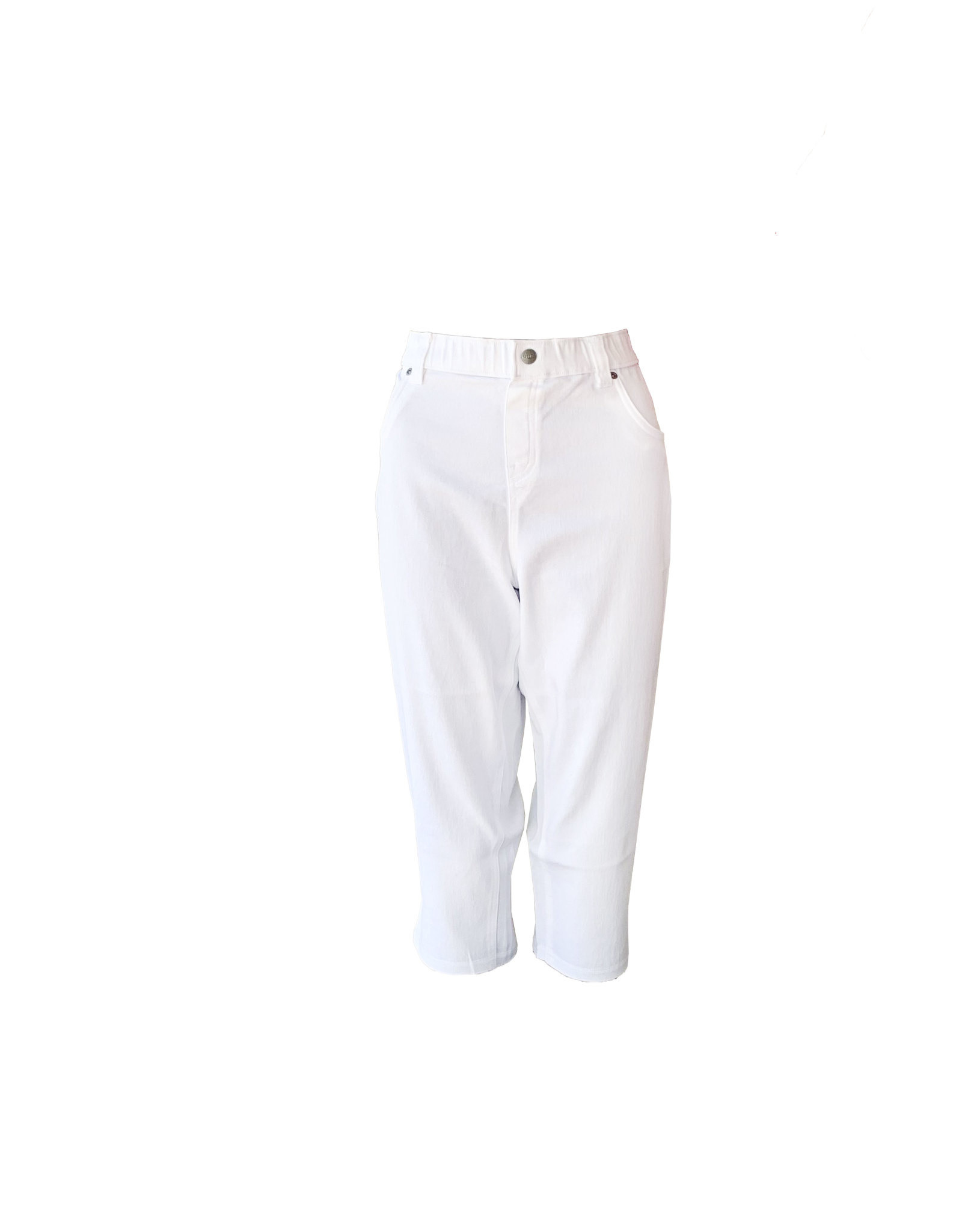HUE Hue Ultra Soft Denim Capri  Size L