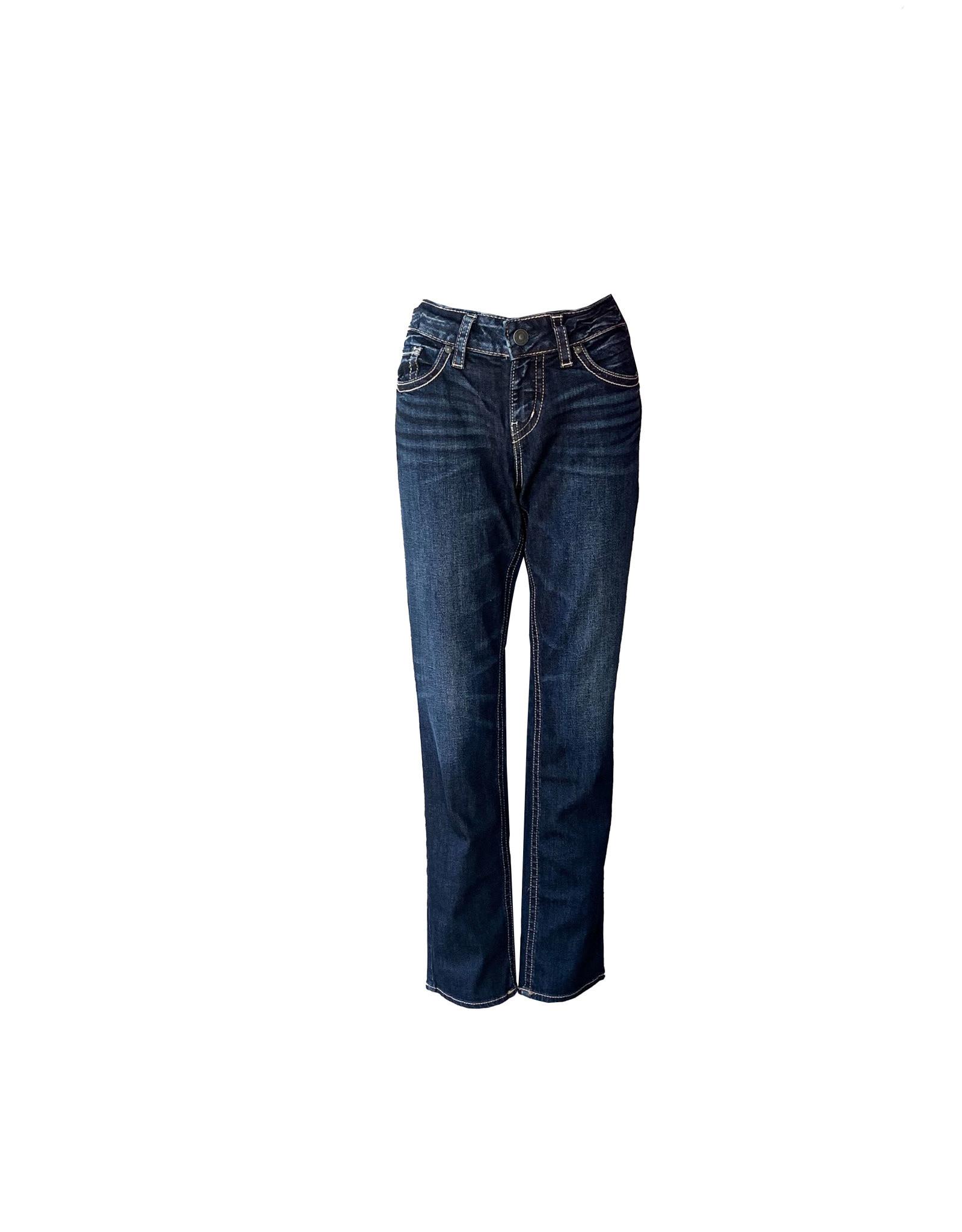 SILVER JEANS.CO SILVER  JEANS. CO Women's Suki Straight Leg JeansSize29/32
