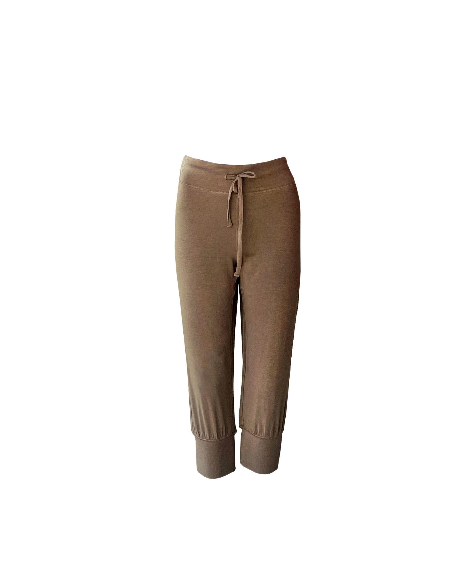 Paper Label Paper Label Cropped  Pants Size L