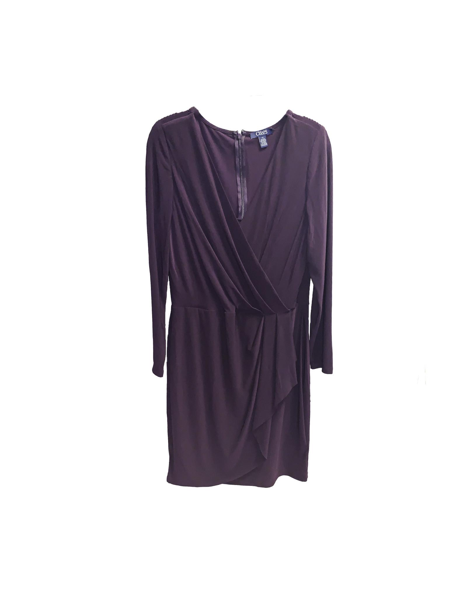 Chaps Purple Dresses size L