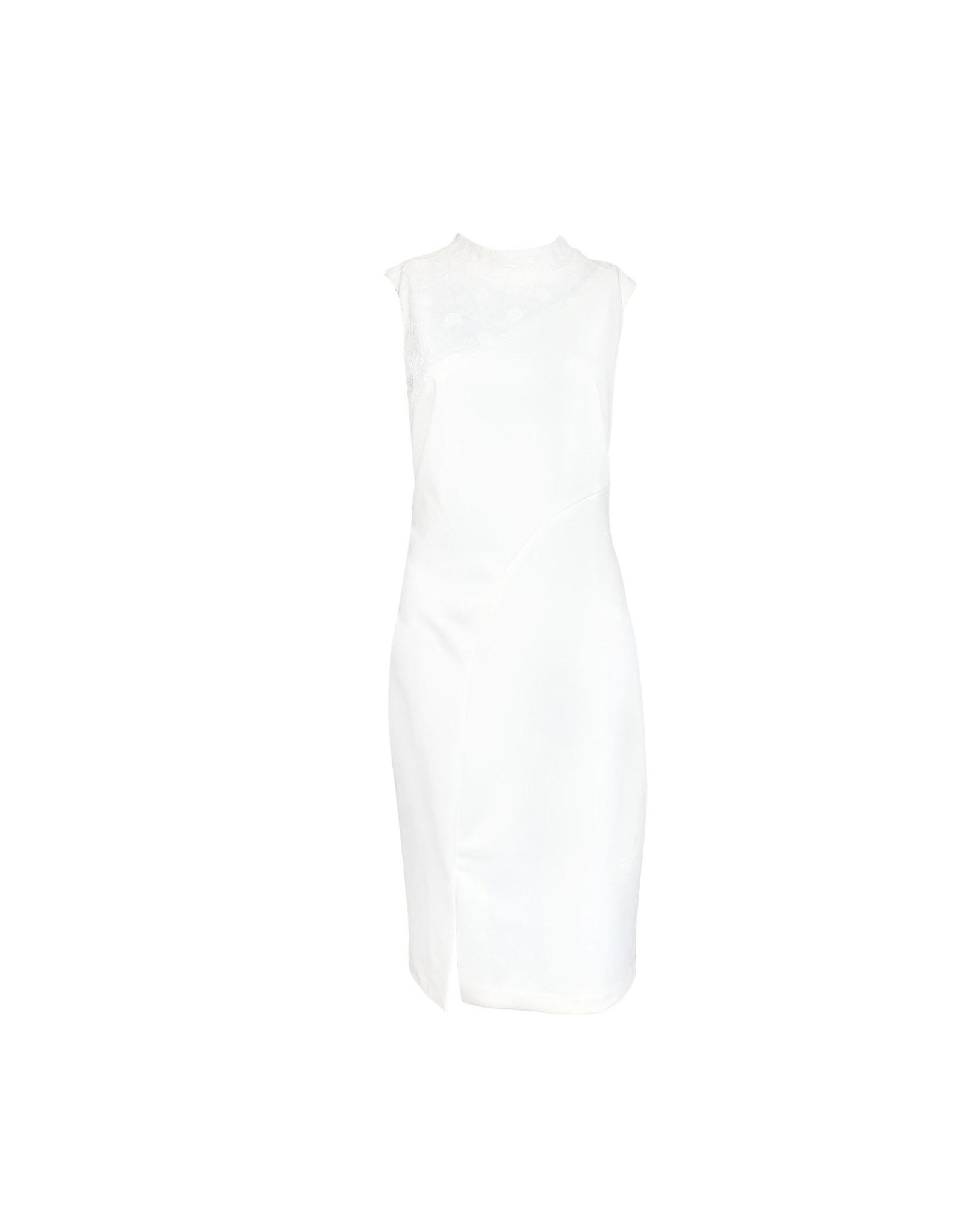 DKNY white sleeveless above the knee size 12