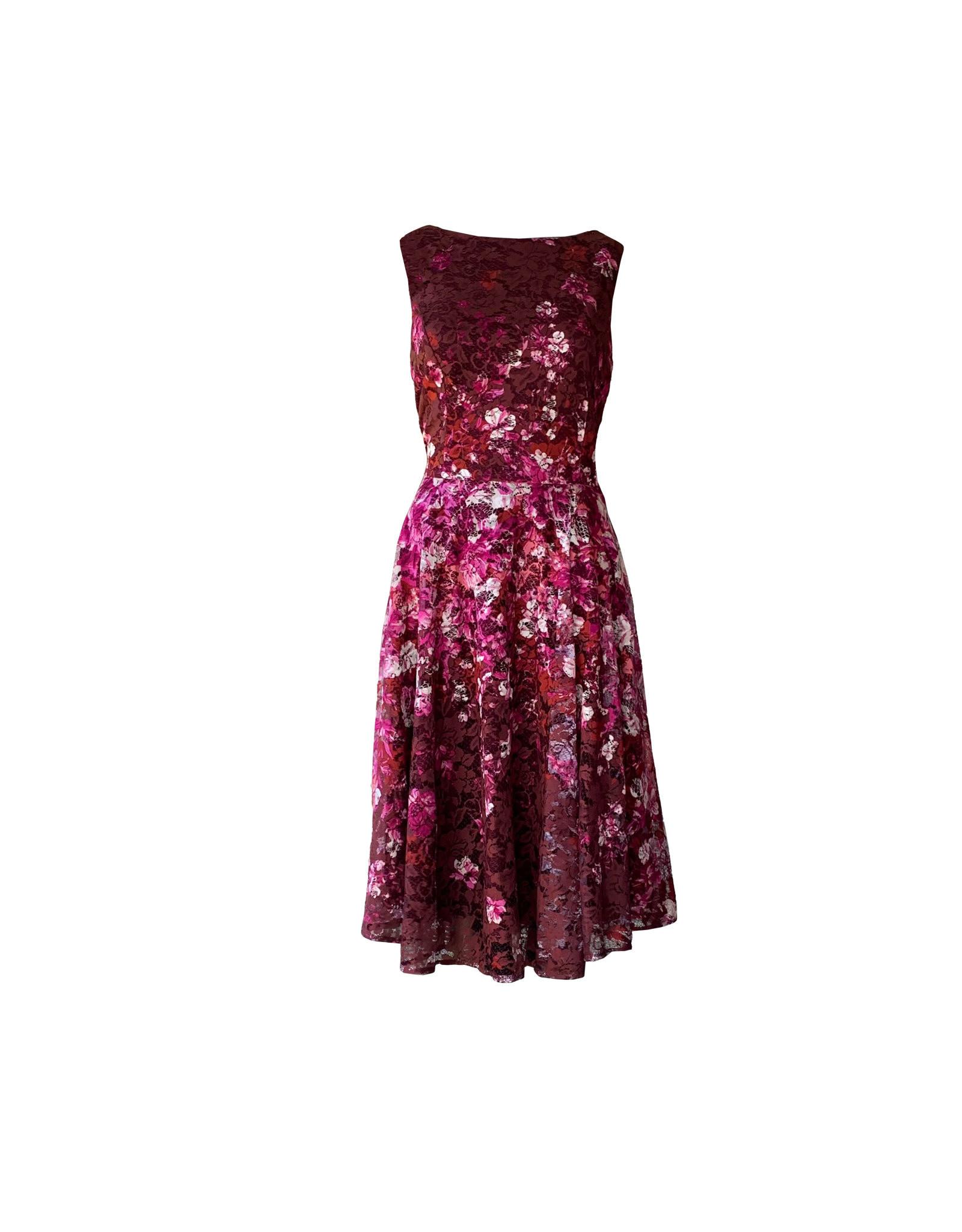 Gabby Skye Gabby  skye floral lace dresses size 10