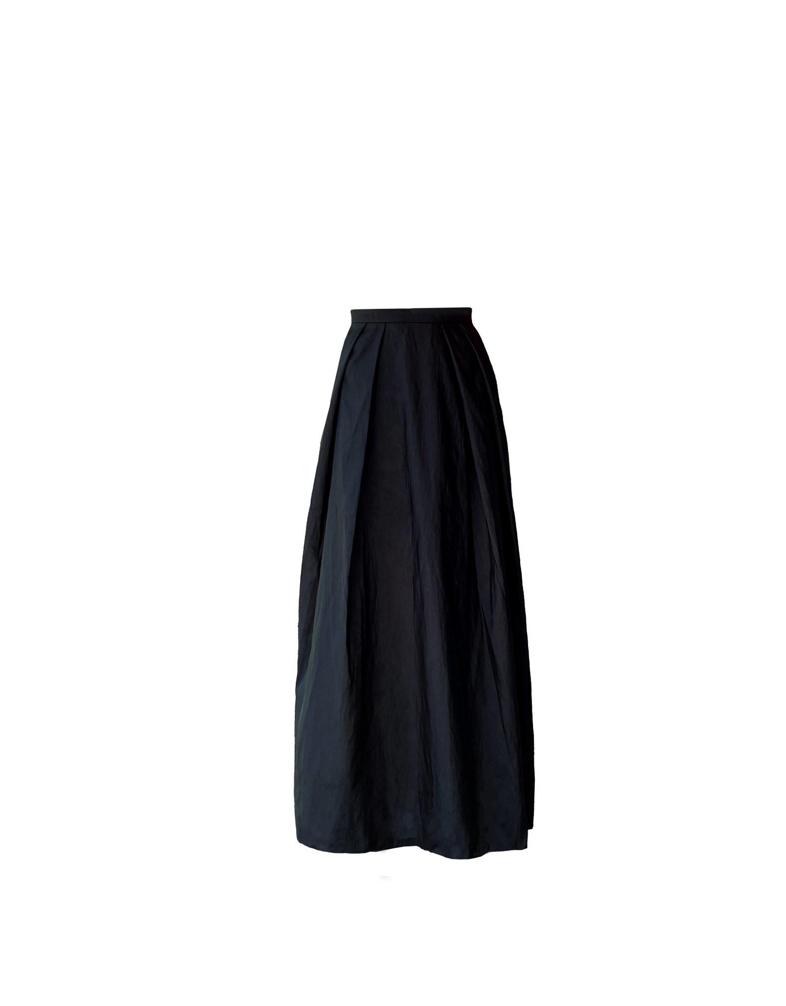 Alex evenings long full taffeta skirt size M
