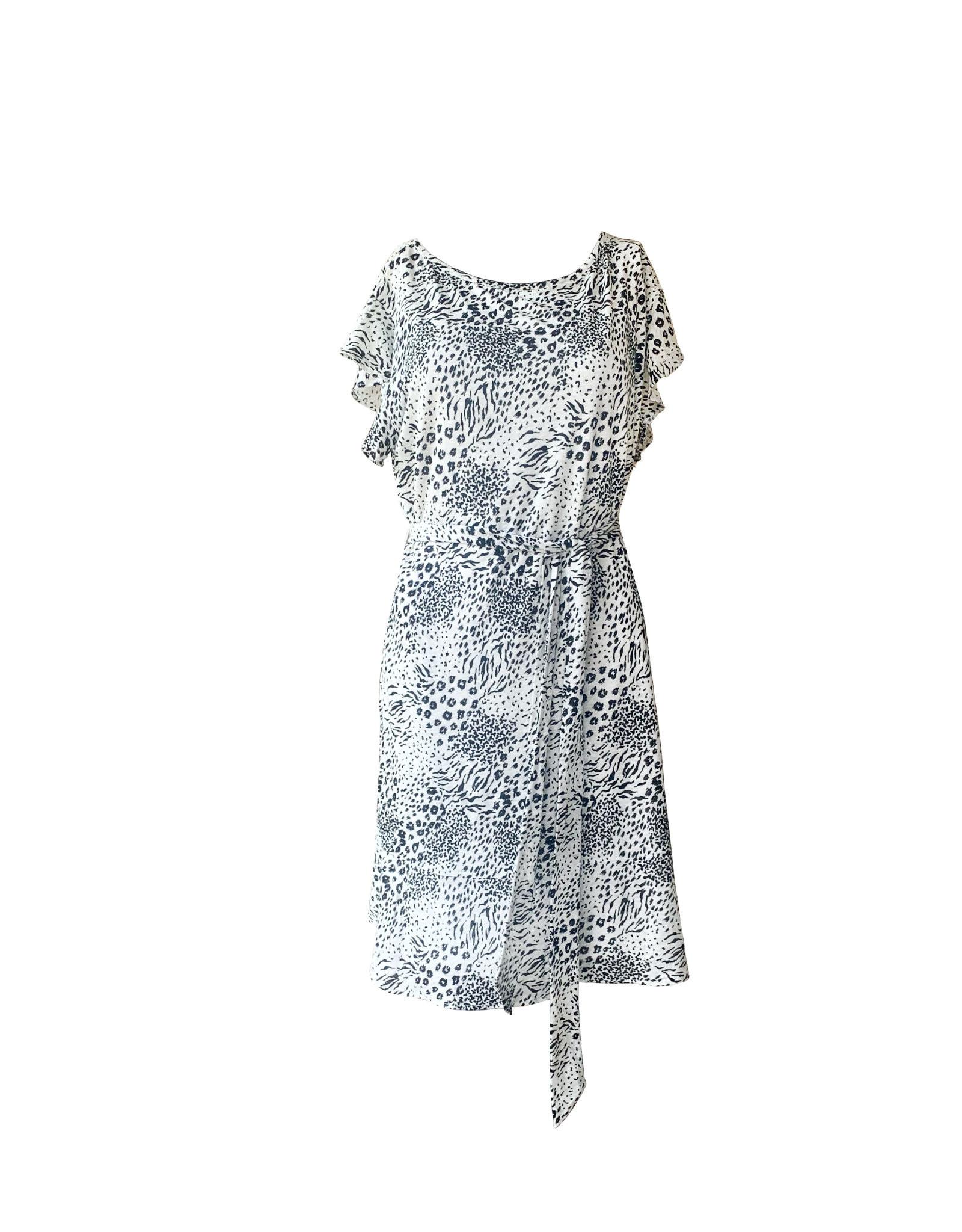 Joie Joie Anthea Animal Print Dress
