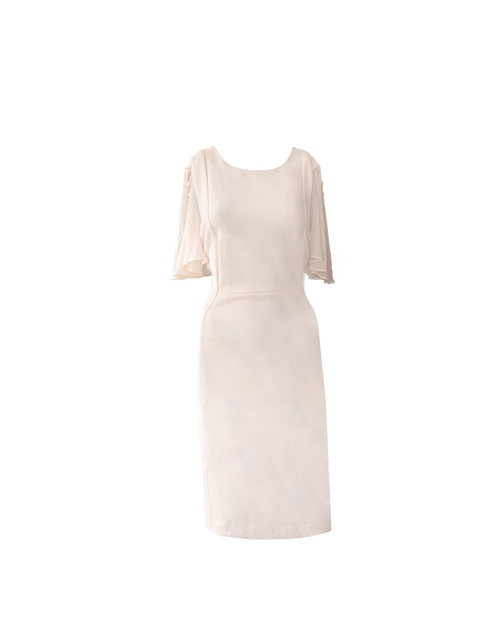 Calvin Klein Calvin Klein Chiffon-Sleeve Sheath Dress