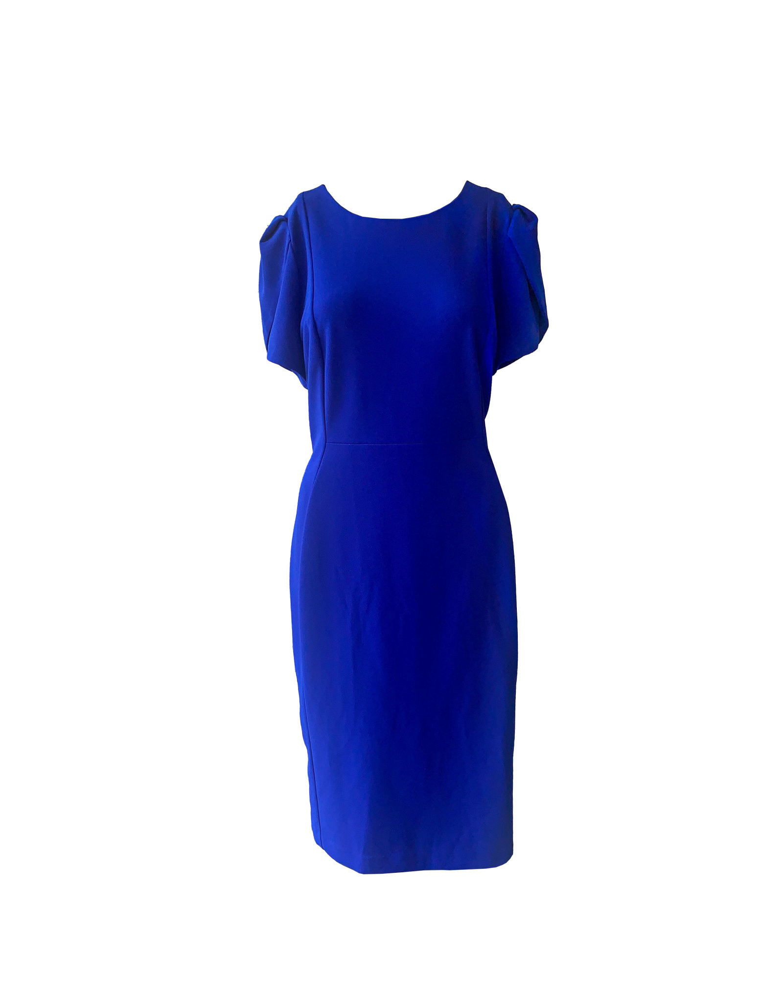 Calvin Klein Calvin Klein Pleated-Sleeve Sheath Dress