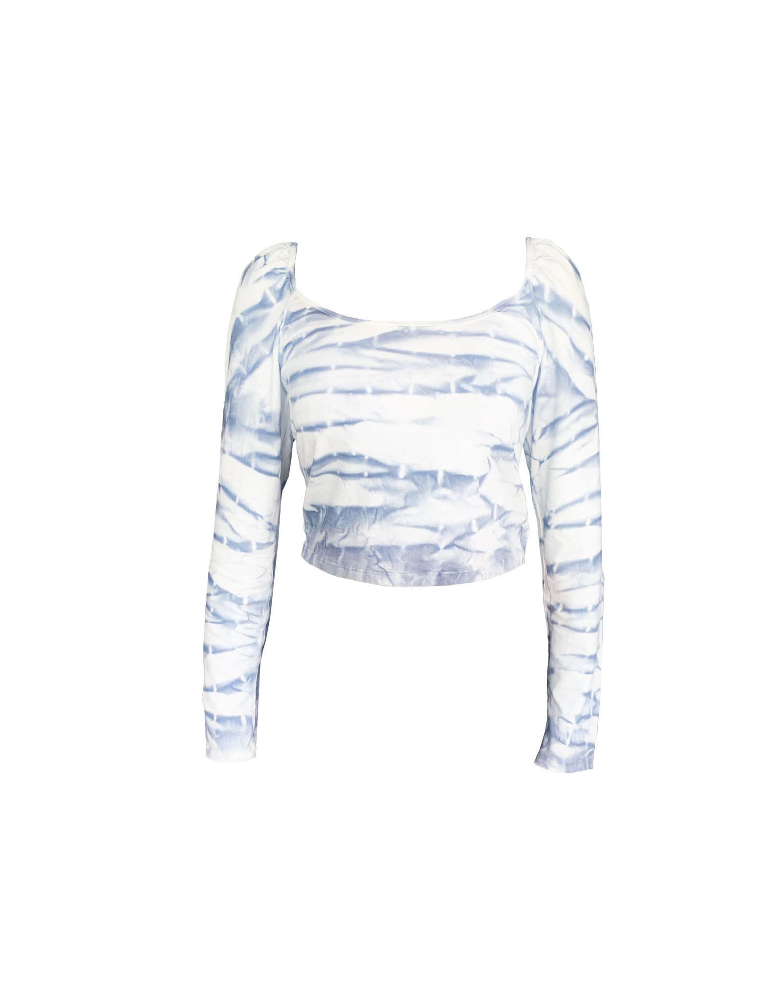 NA-KD NA-KD  Tie Dye Long Sleeve  Top SizeL