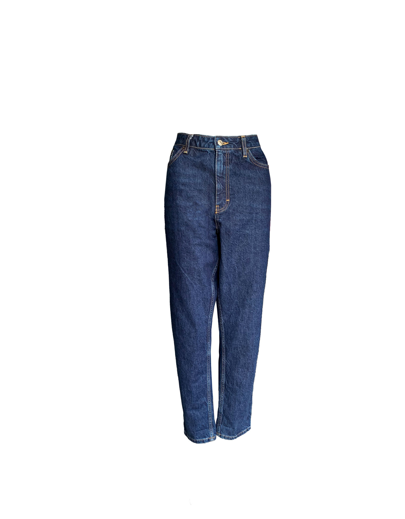 TOPSHOP Topshop Mom  High Waisted Tapered  Leg size 8