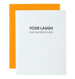 Chez Gagne Your Laugh is My Favorite Sounds - Card