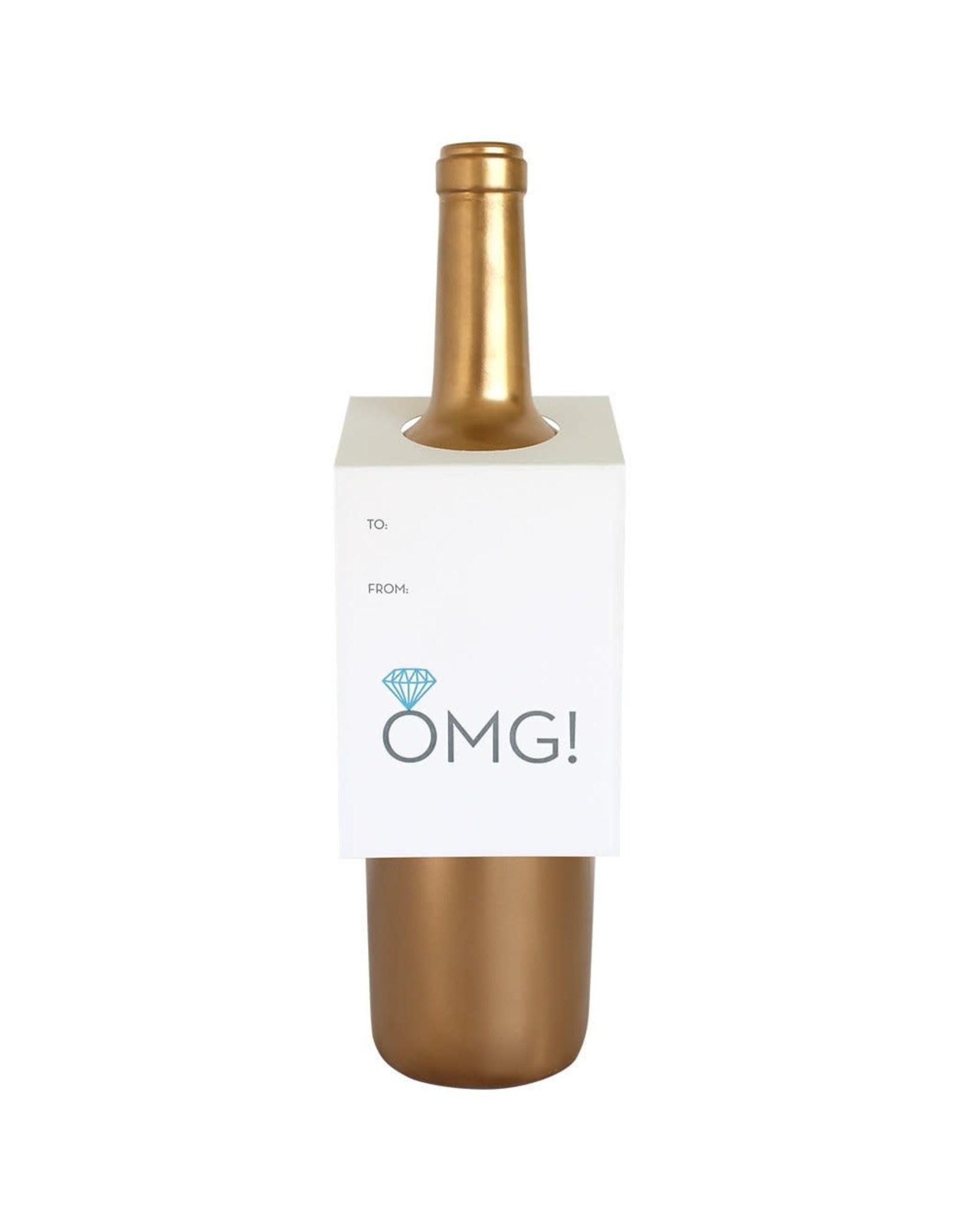 Chez Gagne OMG Engagement Ring - Wine & Spirit Tag