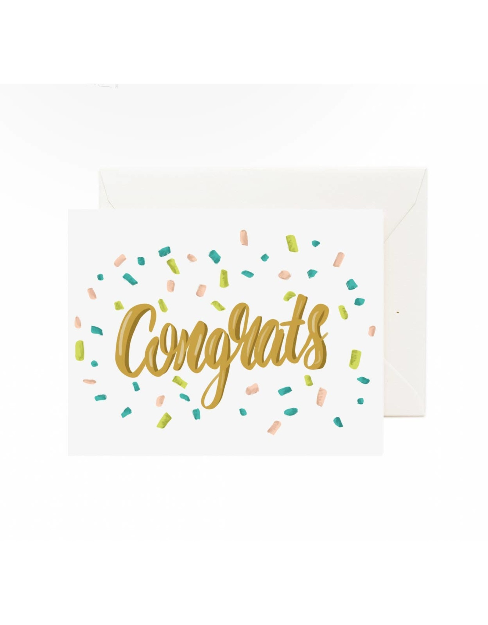 Jaybee Designs Congrats Confetti  - Card