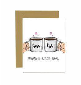 Jaybee Designs Congrats To The Perfect Cup-ple  - Card