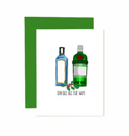 Jaybee Designs Gin-gle All The Way  - Card